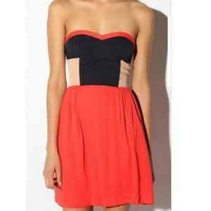 Urban Outfitters   Colorblock Dress